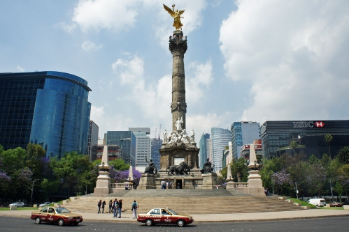 Monumento de la Independencia (El Angel), Mexico DF