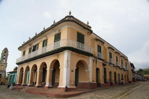 cuba trinidad plaza mayor palacio brunet