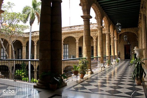 Captain Generals museum in old havana© Cuba Absolutely, 2014