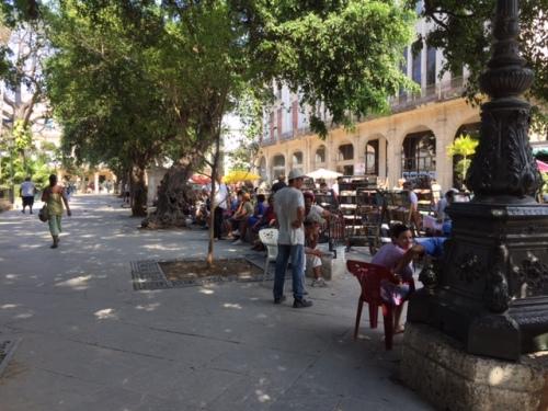 hav plaza de armas