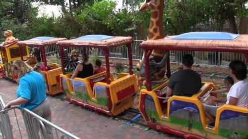 palm zoo tram