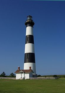 nc Bodie_Island_Lighthouse,_July_2007