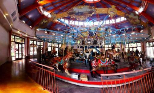 raleigh pullen carousel