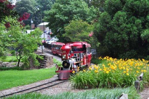 raleigh pullen train