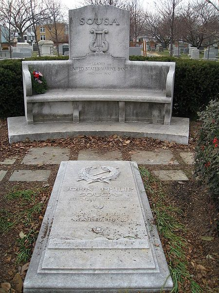 wash congressional cemetery sousa