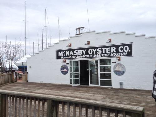 Annapolis Maritime Museum, exterior