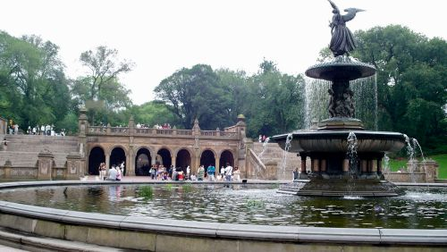 new Angel_of_the_Waters_Fountain_and_Bethesda_Terrace,_Central_Park,_NYC
