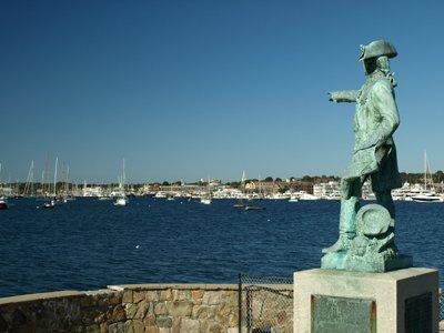 new ocean drive statue