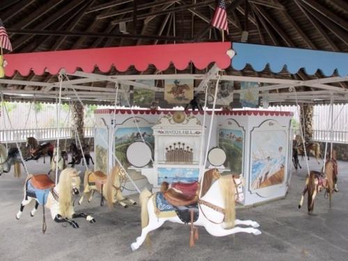 RI watch hill carousel