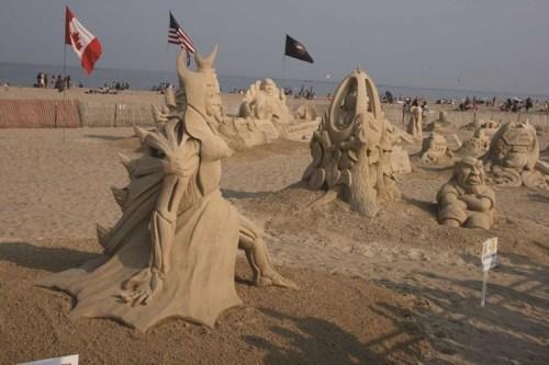 ham hampton beach sculpting