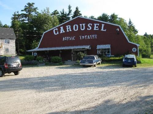 maine boothbay carousel-dinner-theatre