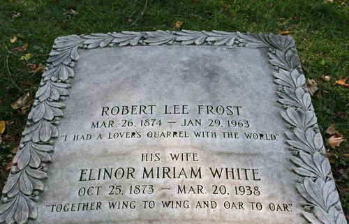 vermont frost grave