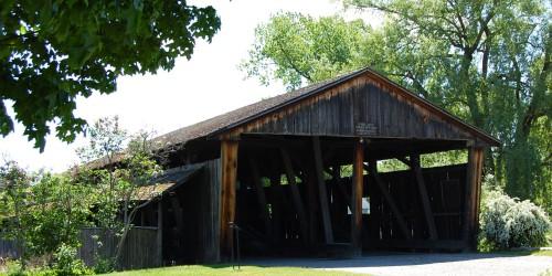 vermont shelburn covered bridge