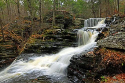 pen factory-falls-at-george-w.-childs-recreation-site.-pa