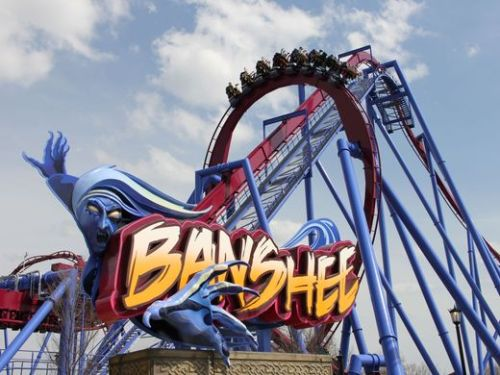 ohio kings island banshee