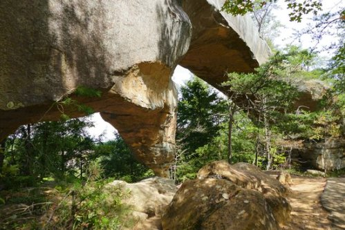 kent daniel boone sky-bridge-from-bottom