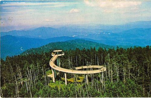 ten smoky national clingman and tower