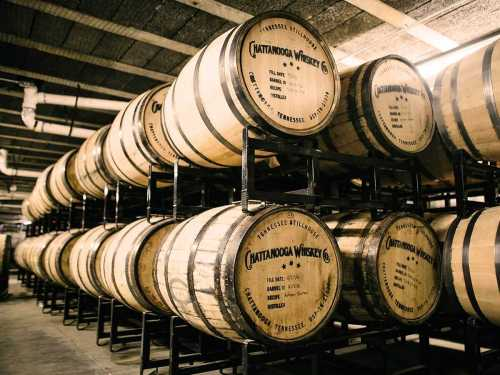 ten tennessee-stillhouse barrels