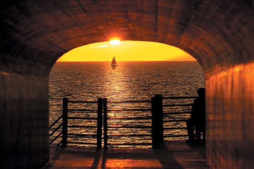 holland Tunnel Park Sunset1150x768