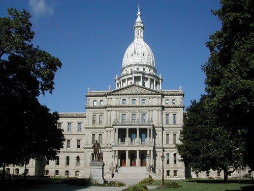 lansing Michigan_state_capitol