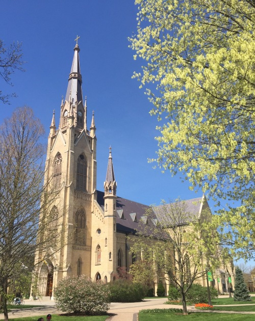 indy Basilica_of_the_Sacred_Heart,_ND_-_front_view