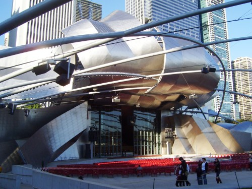 illinois millenium Jay_Pritzker_Pavilion_Millennium_Park_Chicago_2