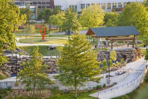 ark riverfront park