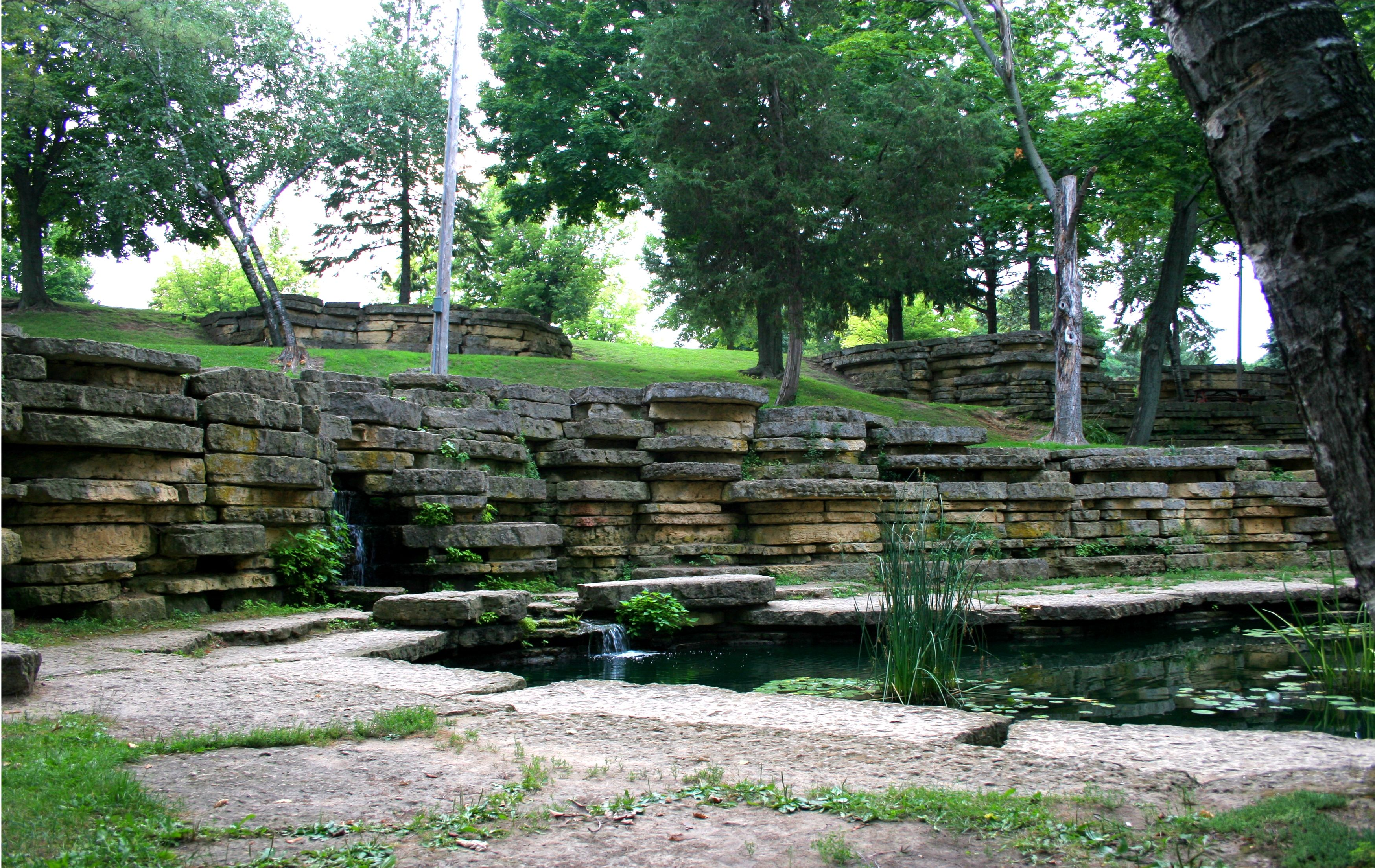 dub eagle goldfish pond